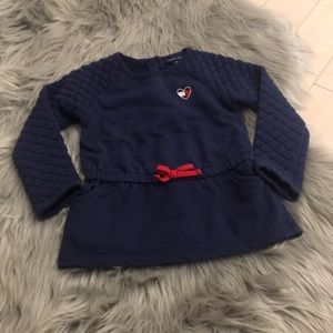 Tommy Hilfiger Baby Girl Dress Quilted 18-24